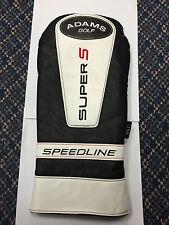 Adams Golf Speedline Super S Driver Headcover New