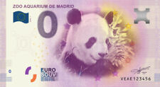 Billet Touristique 0 Euro --- Zoo Aquarium de Madrid (Panda) 2018-1