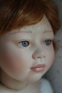 "Christine Orange Artist porcelain 28"" doll NEVE"