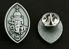 The Knights Templar Pin™, Lapel Pin, Warrior Lucky Charm, Christian Symbol