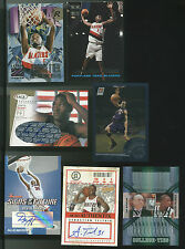 Lot Of 7 Basketball Cards With Rookies, Autos and Serial Numbering