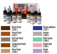 Medea Com-Art kit 10 colori aerografo Steve Driscoll Flesh Tone Set (810014)