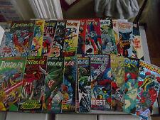 Lot of 21 comics Deathlok Marvel Ghost Rider Infinity War Fantastic Four Dr Doom