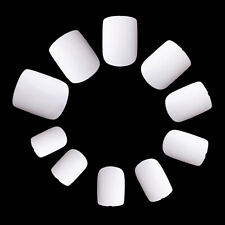 600Pcs Female Square Short False Finger Nail Tips Salon French Acrylic Fake Nail