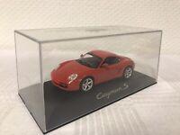 Schuco 1:43 Porsche Cayman S Rot Modellauto Scale Model Car Geschenk Weihnachten