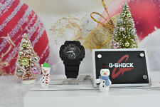 Casio GMAS120MF-1A Women's G-Shock XL World Time Black Resin Watch
