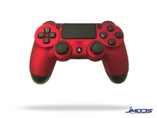 PS4 Custom Wireless Controller (Soft Touch Red)