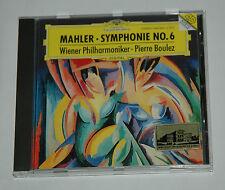 CD/MAHLER SYMPHONIE 6/BOULEZ/DG 445835-2