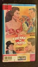 LAS MANZANAS DE DOROTEA. MARIA ELENA MARQUEZ, AUGUSTIN DE ANDA. RARE SPANISH VHS