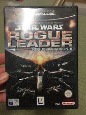 RETRO GAMING - NINTENDO GAMECUBE - STAR WARS ROGUE LEADER  ROGUE SQUADRON 2