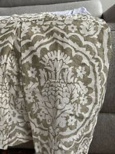 Pottery Barn Medici Pattern Queen Bed Skirt
