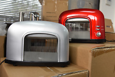 New 2-slice See-Through Red Automatic Toaster  Best Tool Kitchen