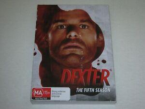 Dexter - Season 5 - 4 Disc - VGC - Region 4 - DVD