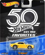 Hot Wheels Chevy Camaro 69 Yellow 50th Favorites FLF35 956B SA*2 1/64