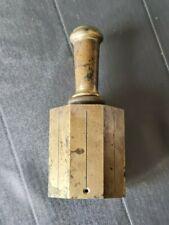 ancien théodolite lunette de visée laiton