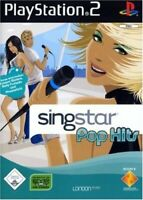 PS2 / Sony Playstation 2 Spiel - SingStar Pop Hits mit OVP