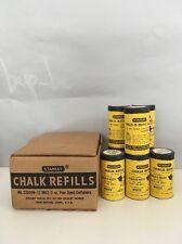 Vintage Tools!  Stanley Chalk Line / Plumb Bob / Tool Chalk Refills - 2 oz each!