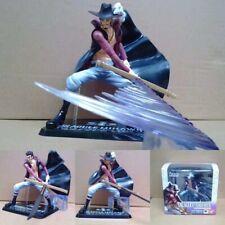 Anime Figuarts Zero One Piece Dracule Mihawk Battle Ver. Figure Model Toy In Box