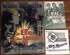 Le Bal Des Maudits / Marlon Brando /Affiche / Cinema / 40x60 / Poster / Original