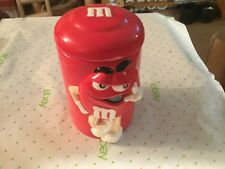 M and M cookie jars
