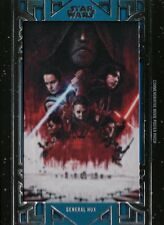 Star Wars Galactic Files, 'General Hux' Movie Poster patch Card MA-GH
