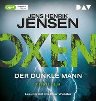 JENS HENRIK JENSEN - OXEN. DER DUNKLE MANN - DIETMAR WUNDER   2 MP3 CD NEW