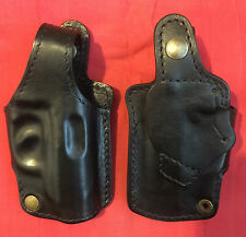 Black Leather RH Holster for Walther PPK,  formed molded, New