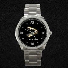 Jaguar  Xk Xj Gold Custom Metal Watch Unisex Wriswatch