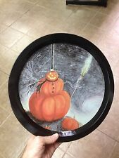 Nightmare Before Christmas Large Tin Tray Plate Platter Tim Burton