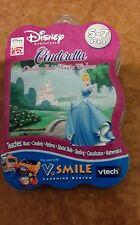 V tech v smile Disney Cinderella's 5 - 7 Magic souhaits Cartouche-GRATUIT UK P & p