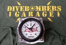 3 3/8 Gauge Panel Bomber Aviator Custom 4bolt Dash Gasser Hot Rod Bezel rat rod