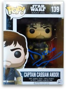 Diego Luna  Signed Autographed Funko Pop Doll Star Wars: Rogue One Andor 862967