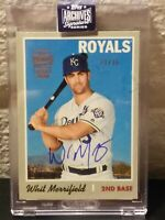 WHIT MERRIFIELD ROYALS 2020 TOPPS ARCHIVES 2019 HERITAGE ON-CARD AUTOGRAPH 91/96