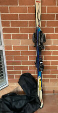 ROSSIGNOL Roc X 160cm Snow Ski with binder Set and Carrying Bag