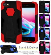 Silicone/Gel/Rubber Mobile Phone Hybrid Cases for iPhone 8