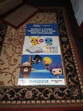 Funko Pop Gamestop Exclusive Promo Poster  Lot (2 posters)