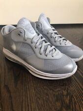 Nike Air Max LeBron 8 Viii Low Wolf Grey Rare Qs 456849-002