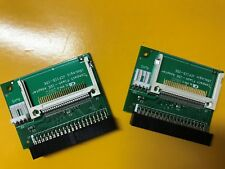 Compact Flash CF to 3.5 Female 40 Pin IDE Bootable Adapter Converter Card  X 2