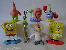 Complete collectible figurines set SPONGEBOB Salati Preziosi toys figures 2005