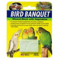 ZOO MED BIRD BANQUET MINERAL BLOCK WITH VEGETABLES - 28G