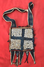 Magnificent Yoruba Tribe Vintage Ifa Cowrie Shell Divination Bag ~ Nigeria