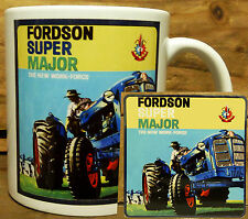 300ml COFFEE MUG WITH MATCHING COASTER - FORDSON TRACTORS
