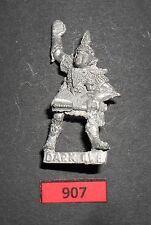 Warhammer Citadel Dark Elf 3rd edición Legión líder con Mace R 907