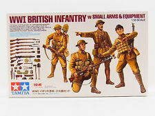 LOT 31113 | Tamiya 32409 WWI British Infantry + small arms 1:35 Bausatz NEU OVP