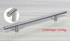 """Solid Stainless Steel 12"""" Kitchen Cabinet Hardware Bar Pull Handle"""