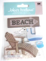 JOLEE'S BOUTIQUE STICKERS - BEACH HOUSE sunlounger