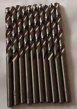 Heller 4.5mm HSS-G Super Twist Metal Drill Bits 10 Pack HSS Ground German Tools