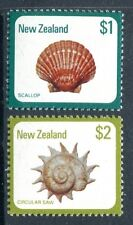 New Zealand 696-697, MNH. Marine Life local See Shells, 1979. x11858