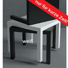 IKEA Ablagetisch Loungetisch COUCHTISCH BEISTELLTISCH TISCH WEISS 55x55cm NEU