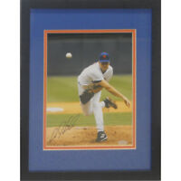 AARON HEILMAN SIGNED 8x10 FRAMED MATTED12x16 NY METS CHICAGO CUBS ARIZONA D'BACK